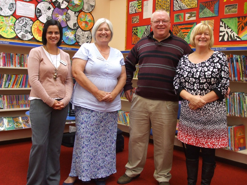 Library Staff at Parbold