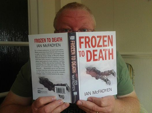 LARGE PRINT VERSION OF FROZEN TO DEATH